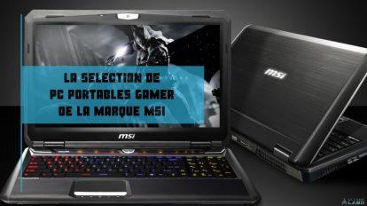 meilleurs pc portables gamer MSI