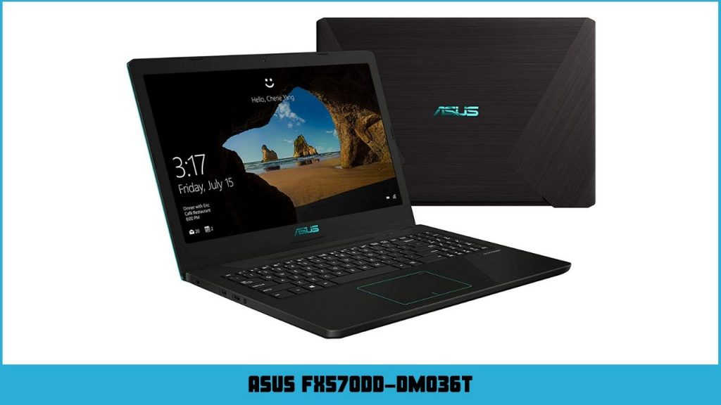 pc gamer portable Asus FX570DD-DM036T
