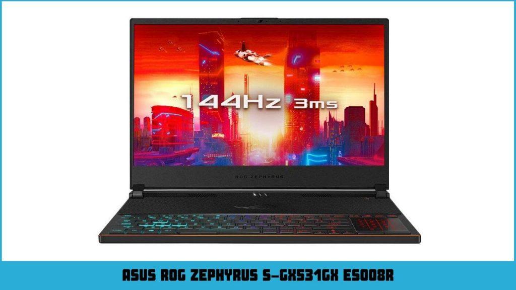 pc gamer portable Asus ROG Zephyrus S-GX531GX ES008R