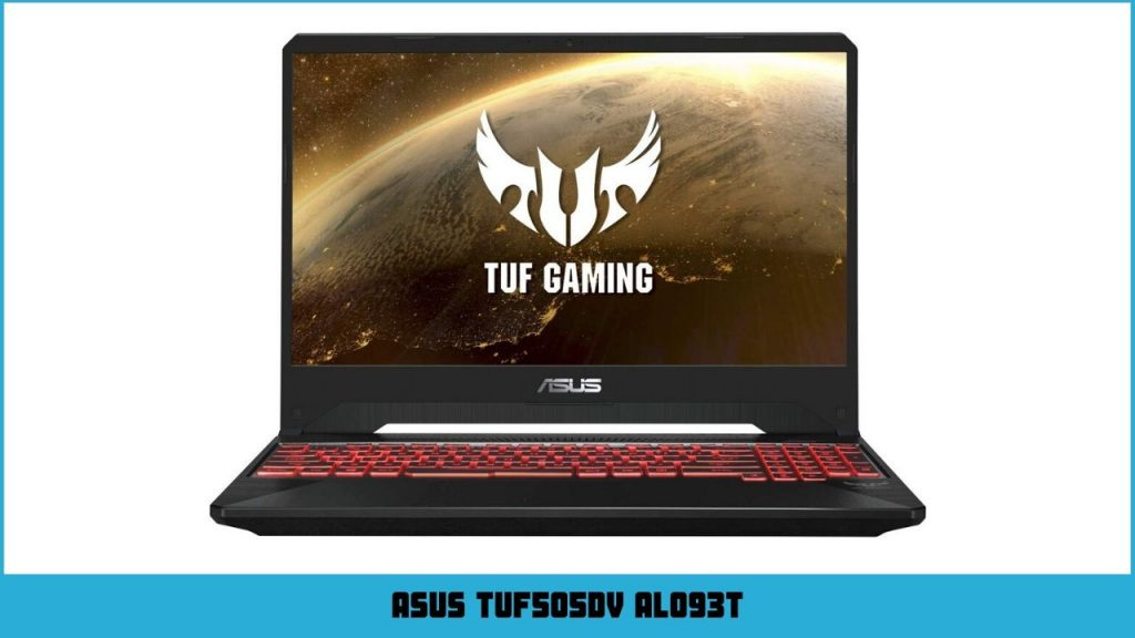 pc gamer portable Asus TUF505DV AL093T