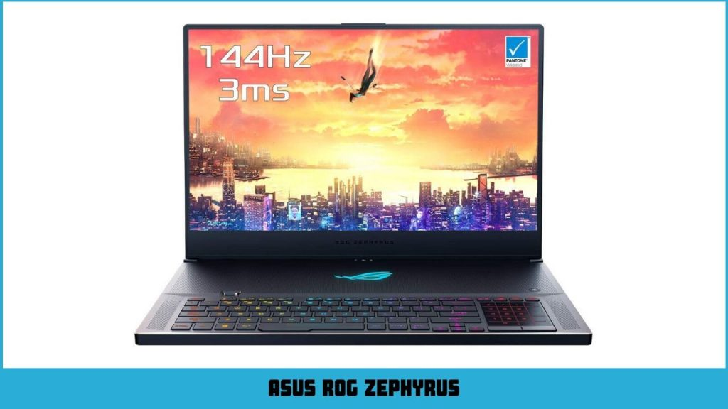 pc portable gamer Asus ROG ZEPHYRUS
