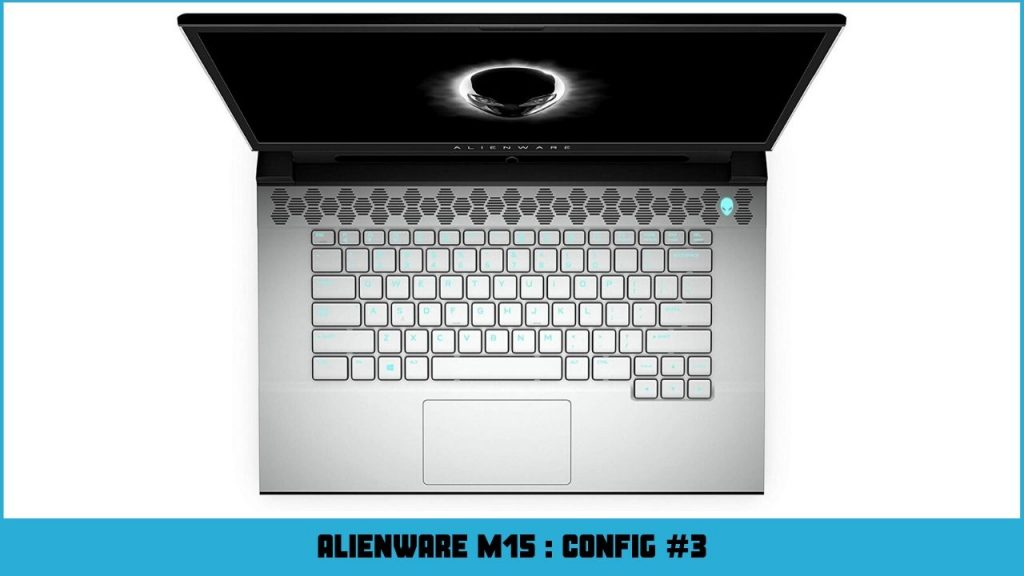 pc portable gamer alienware AW15R2-7753WHT-PFR