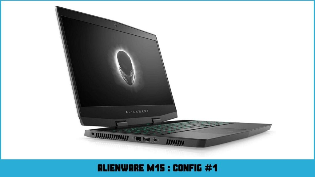 pc portable gamer alienware AWm15-7313SLV-PFR