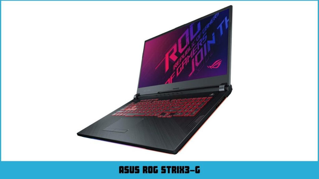 pc portable gamer i7 Asus ROG STRIX3-G-G731GU-EV010T