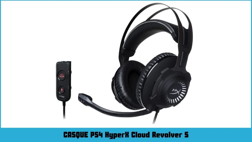 casque ps4 HyperX HX-HSCRS-GM Cloud Revolver S