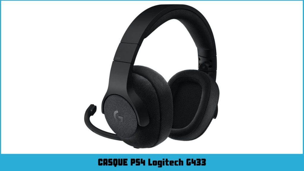 casque ps4 Logitech G433