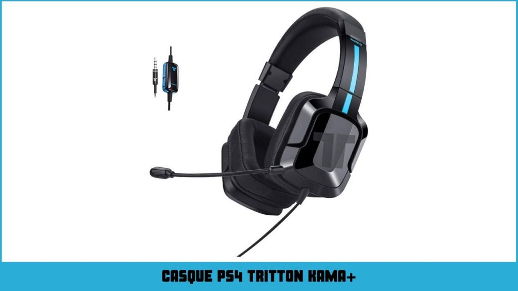 casque ps4 TRITTON KAMA plus