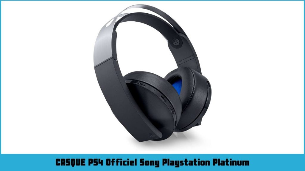 casque ps4 officiel Sony Playstation Platinum