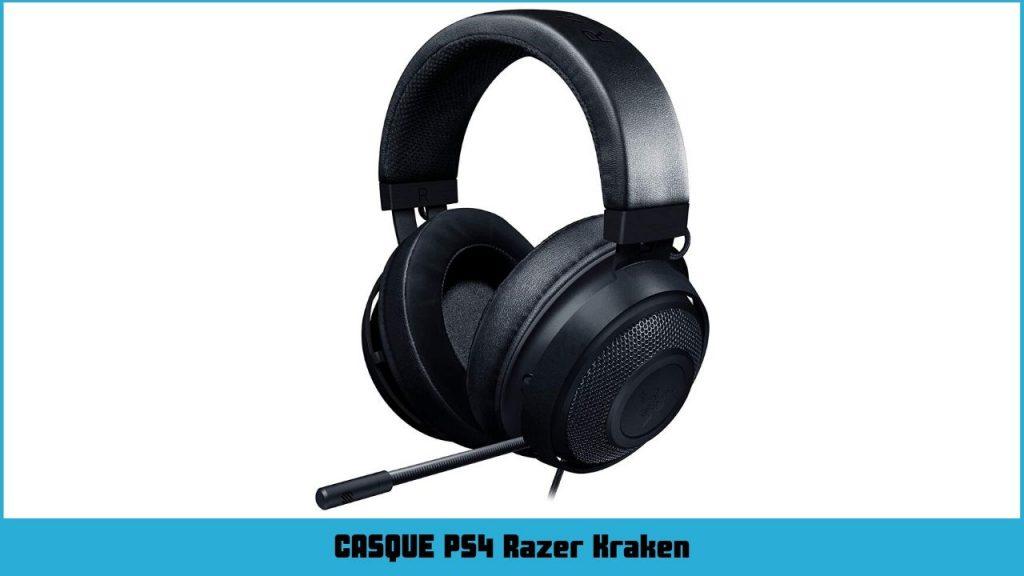 casque ps4 pro Razer Kraken