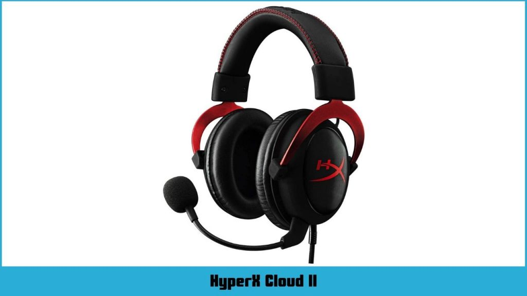 casque gamer Logitech HyperX Cloud II