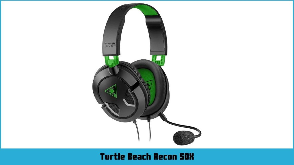 casque gamer Xbox One Turtle Beach Recon 50X